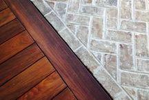 Floors • Vloeren / Inspirational floors • Inspirerende vloeren