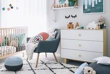 Nurseries • Babykamers / Inspirational nurseries • Inspirerende babykamers