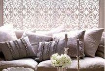 Window treatments • Raam bekledingen / Inspirational window treatments • Inspirerende raam bekledingen