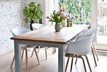 Dining areas • Eetruimtes / Inspirational dining areas • Inspirerende eetruimtes