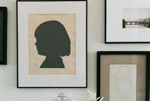 Graphic wall art • Grafische wandkunst / Inspirational graphic wall art • Inspirerende grafische wandkunst