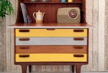 Mid century furniture • Retro meubelen / Great mid century furniture • Geweldige retro meubelen