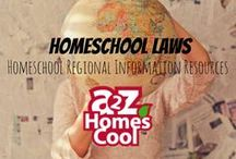 Homeschool Laws - Homeschool Regional Information Resources / Information about state laws, support groups, resources for getting started homeschooling and more. Separated by state.