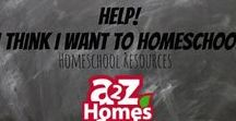 Help! I think I want to HOMESCHOOL - Homeschool Resources / Are you new to homeschool? Are you curious about homeschooling? Here are some pins to get you started!