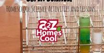 Super Science! - Homeschool Science Activities and Lessons / Homeschool science resources!
