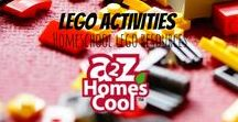 Lego Activities - Homeschool LEGO Resources / Lego activities and lesson related ideas to incorporate Legos into your homeschool.