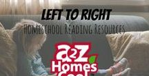 Left to Right- Homeschool Reading Resources / Reading resources for homeschools.