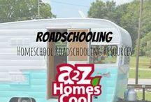 Roadschooling -Homeschool Roadschooling Resources / Roadschooling ideas, resources, and more!