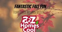Fantastic Fall Fun- Homeschool Autumn Resources / Fall themed ideas and resources!