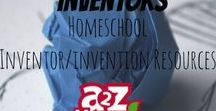Interesting Inventors- Homeschool Inventor/Invention Resources / Inventor  lessons, resources, and information for homeschoolers.