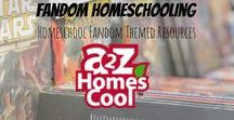 Fandom Homeschooling - Homeschool Fandom Themed Resources / Homeschooling ideas to teach through your favorite fandoms!