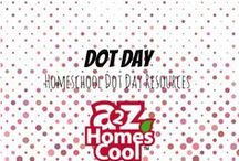 Dot Day - Homeschool Dot Day Resources / Dot Day is Sept. 15th! Here are some fun ways to celebrate!