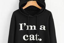 hoodies and shirts