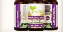 Love CBD • Entourage Oil / The Entourage Oil is our unique cocktail of legal cannabis strains, which are chosen for their diverse cannabinoid content. www.lovecbd.org