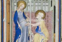 (Book of Hours DB) Trés Belles Heures de Notre-Dame / BnF (NAL 3093)