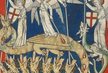 (Apocalypse) Queen Mary Apocalypse / The Apocalypse in Anglo-Norman with commentary and with the prologue of Gilbert de la Porrée translated into Anglo-Norman.The illuminations include 73 miniatures in colours and gold