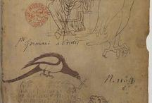 (Sketch) Le carnet de Villard de Honnecourt