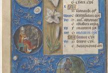 (Book of Hours) Livre d'heures, en latin