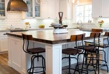 Kitchen Island Ideas / Kitchen Islands | Decorating your kitchen and looking for island styles? Take a peek at the kitchen islands we've collected!