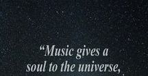 Music / I love music from all around the world, & I'm always open to learning more.