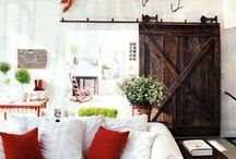 Farmyard Darlings Barn Doors / We find barn doors and/or we custom create one unique to your home that represents your personality.