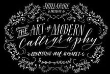 calligraphy/typography/lettering / by Renee Schneider