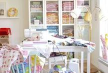 My sewing room / by Frollein Malli