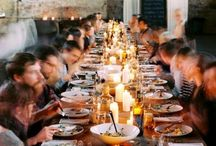 Farm Dinner Inspiration / Dreams of local food raised by local farmers, prepared by local chefs and eaten in a beautiful setting. Perfection.