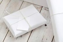 gift wrap & packaging / by Fair Morning Blue