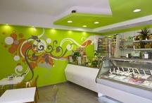 Gelateria Arte Fredda - Trani / Arredamento del bar gelateria realizzato da Zingrillo.com