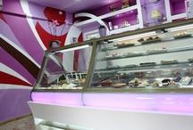 Pasticceria Monachese - Foggia / Arredamento del bar pasticceria realizzato da Zingrillo.com