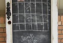 Chalkboard Ideas The Darlings Love / Jot down your lists, quotes, or favorite doodles.