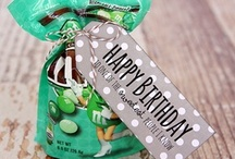 Birthday Gifts & Idaes / by Patricia Arellano