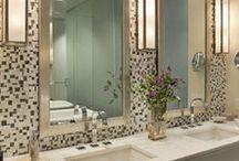 Surround me....Bathrooms / Ideas for the bath & powder rooms
