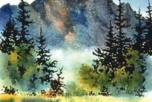 Inspire | Art and Paintings Outdoor & Nature / Beautiful outdoor and Nature drawings and paintings.