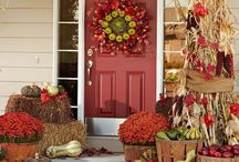 Fall into Autumn / Decor inside & out