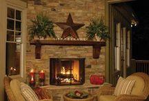 I need a fireplace re-do!