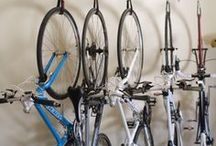 Gear | Room & Storage Ideas / Gear Room and Storage Ideas for Bikes and outdoor gear.