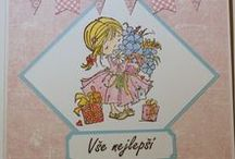 My cards - babies & kids / My cardmaking projects related to babies and kids.