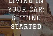 Van Life | Camper Van Tips / Tips & Tricks for Living in a camper van. #Vanlife