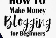 Make Money Blogging / Pins devoted to showing how to make money blogging.