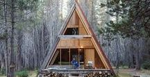 dwell | CABIN DREAMS / If we could hide away in one of these dreamy cabins forever, we would.