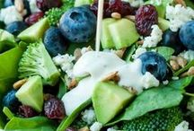 Food / Healthy lunch and snack ideas