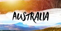 Australia / Australia has something to offer for everyone. Beach lovers and outback enthusiasts. Desert and ocean. We love it! #Australia #ocean #desert #outback #backpacking #beach #bushland #downunder