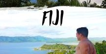 Fiji / Holiday in paradise where the water is never cold and the cocktails are always fresh. #fiji #island #islandlife #tropical #honeymoon #paradise