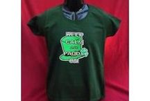 St. Patrick's Day Shelf / A selection of St. Patrick's day T-Shirts from Pepe' Enterprise on sale today.