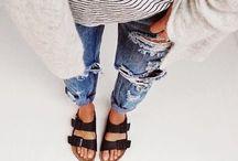 tshirt & jeans