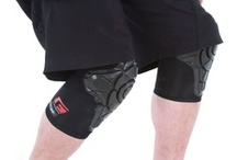 G-Form for Extreme Athletes / Our athletic products feature unique hinging and molding, which allow athletes the ultimate freedom and flexibility when pushing themselves to the limits.  Our low-profile RPT™ pads can be easily worn over or under clothing. / by G-Form