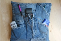 Recycling Jeans / Denim is a material to be reused / by Fa Az