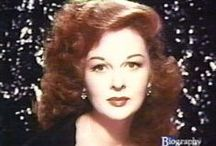 Susan Hayward / Susan Hayward is my favorite actress of all times.  If you have never seen Back Street or I Want To Live I strongly advise you to.  / by Cookie Smith